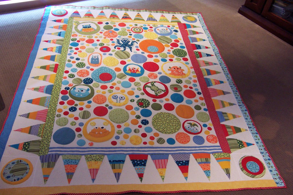 Monster Quilt Pattern By Dont Look Now Am So Happy To Ha Flickr