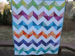 Baby quilt for a special little one 3/2011 | by sewlikesue
