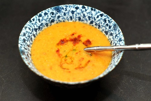 red lentil soup with lemon | by sassyradish