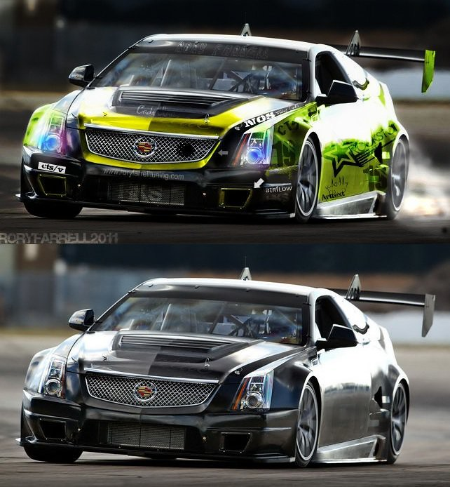 Cadillac Cts V Coupe Rockstar Drift Concept A New Golden Y Flickr