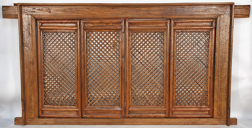 Wooden Lattice Wall Decor