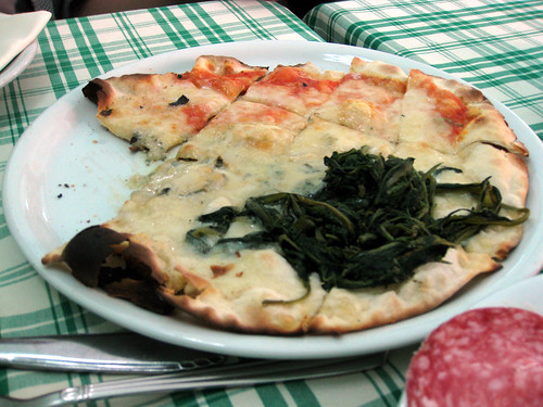 Pizza Margherita and Pizza Bianca | by mariamjaan