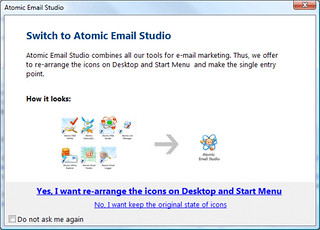 Atomic Email Studio - Screenshot 1 | by mihalysoft