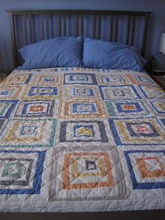 my new bed quilt | by Leigh - leedle deedle quilts