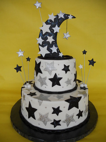 A Starry Night Birthday Cake A Starry Night Was The