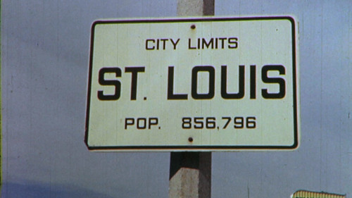 St. Louis Population Sign, 1950s | by Pruitt-Igoe