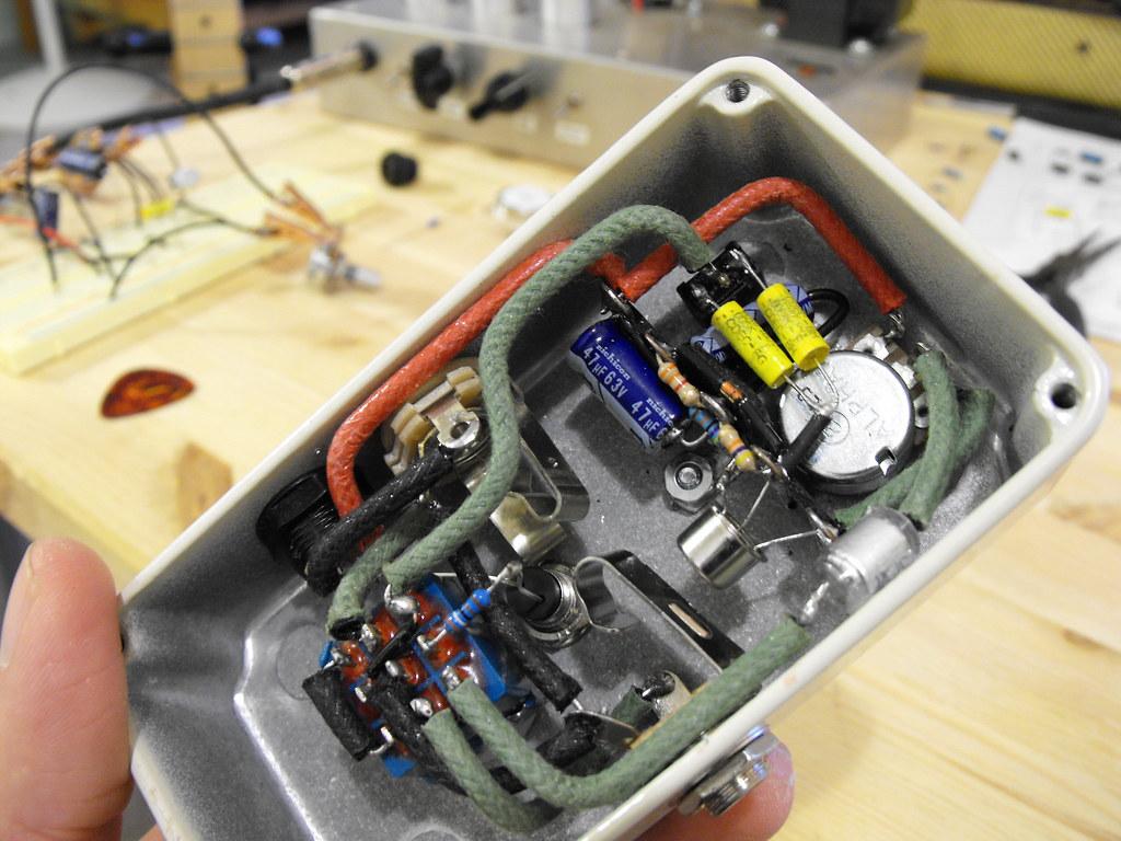 ... Dallas Rangemaster pedal guts (w/ parts list) | by Tim Patterson