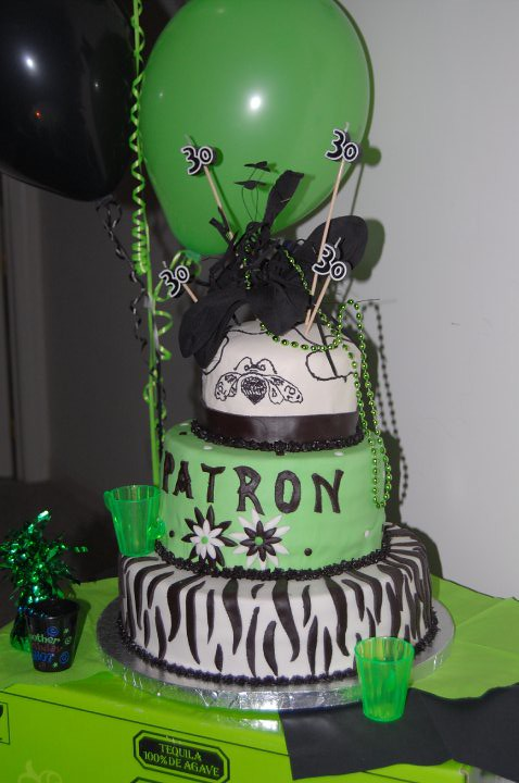 Patron Birthday Cake Sharon And July Flickr