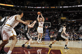 Luke Harangody Shoots | by Cavs History