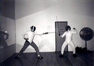 Fencing at University of Delaware | by Lee Cannon