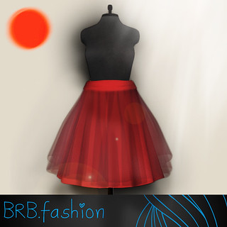 BRB.cloth *save Japan* skirt | by *Mijn*