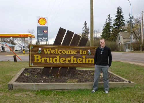 Bruderheim Sign | by Meteorite Times Magazine