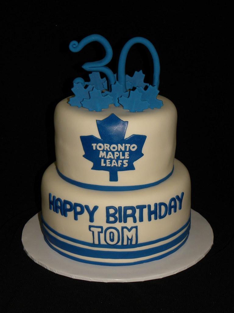 Toronto Maple Leafs Cake Cheryl Flickr