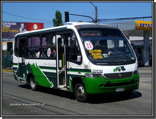 Transportes san pedro linea n 11 valdivia for Mercedes benz san pedro