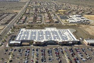 Solar installation on Buckeye, Ariz. Walmart | by Walmart Corporate