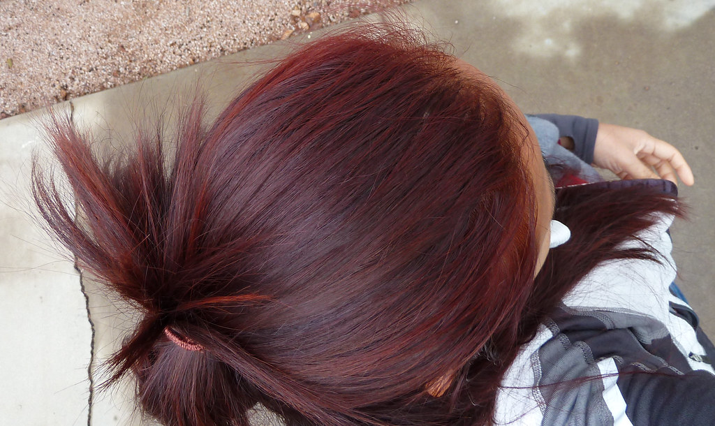 Newly Colored Red Hair I Bought Two Boxes Of Garnier Nutri Flickr