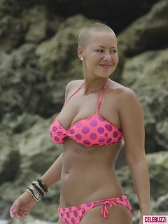 Amber-Rose-Bikini-In Barbados | by CaribVue