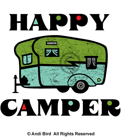 Happy Camper Graphic