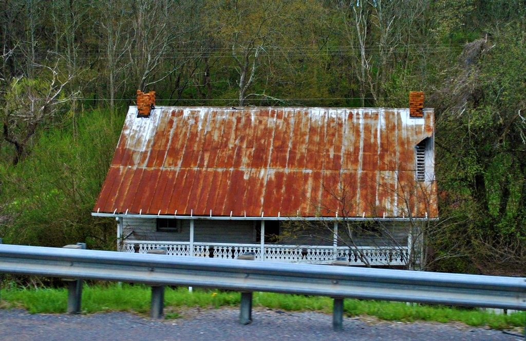 ... Tin Roof, Rusted | By Debcll