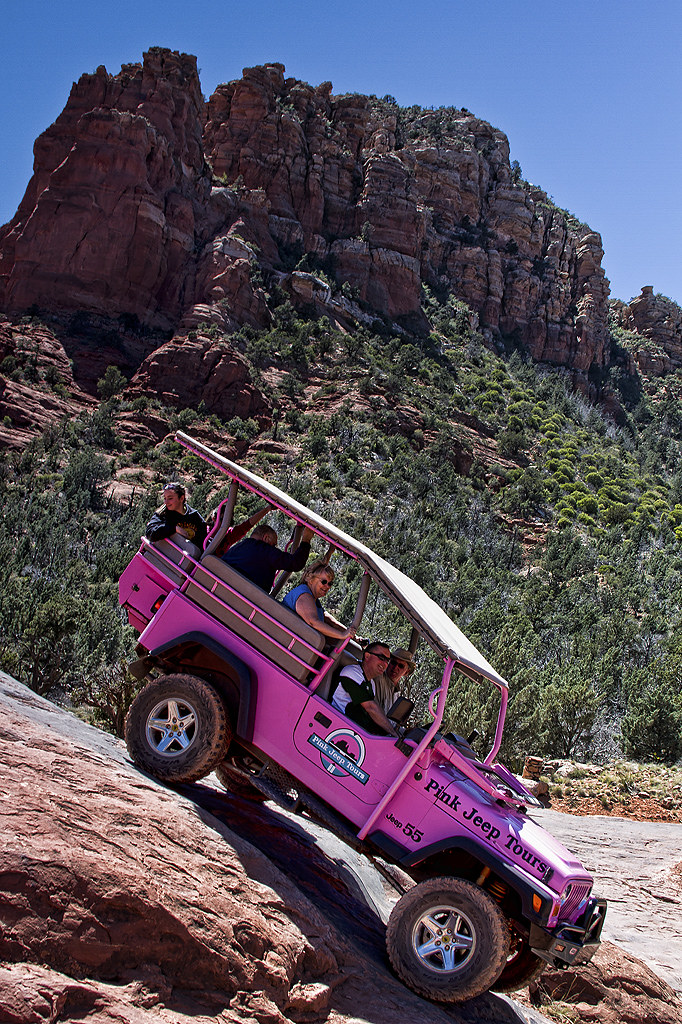 Nice ... Pink Jeep Tours Sedona | By Adrian Falconer