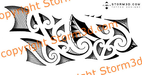 maori-tribal-forearm-tattoos-designs-for-sale | This forearm… | Flickr