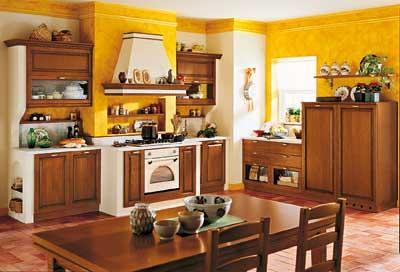 Cucina in arte povera in muratura | Cucina lineare con alcun… | Flickr