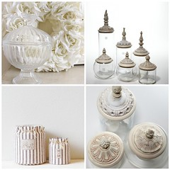 decorative glass jars by toriejayne - Decorative Glass Jars