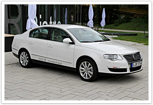 The New Natural Gas Powered VW Passat in White // Dusseldorf @ The B1 // Germany // Earth Machine = Earth Beauty! | by || UggBoy♥UggGirl || PHOTO || WORLD || TRAVEL ||