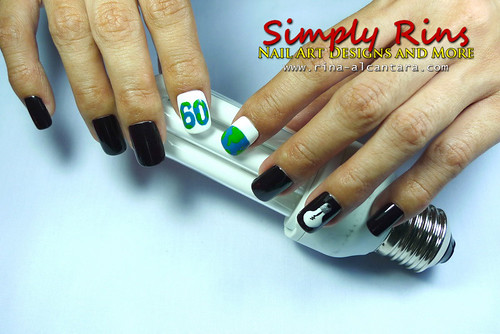Nail Art Earth Hour 07 | by Simply Rins
