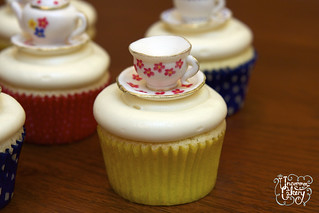 Hand painted Tea Party Cupcakes | by The Uncommon Cakery