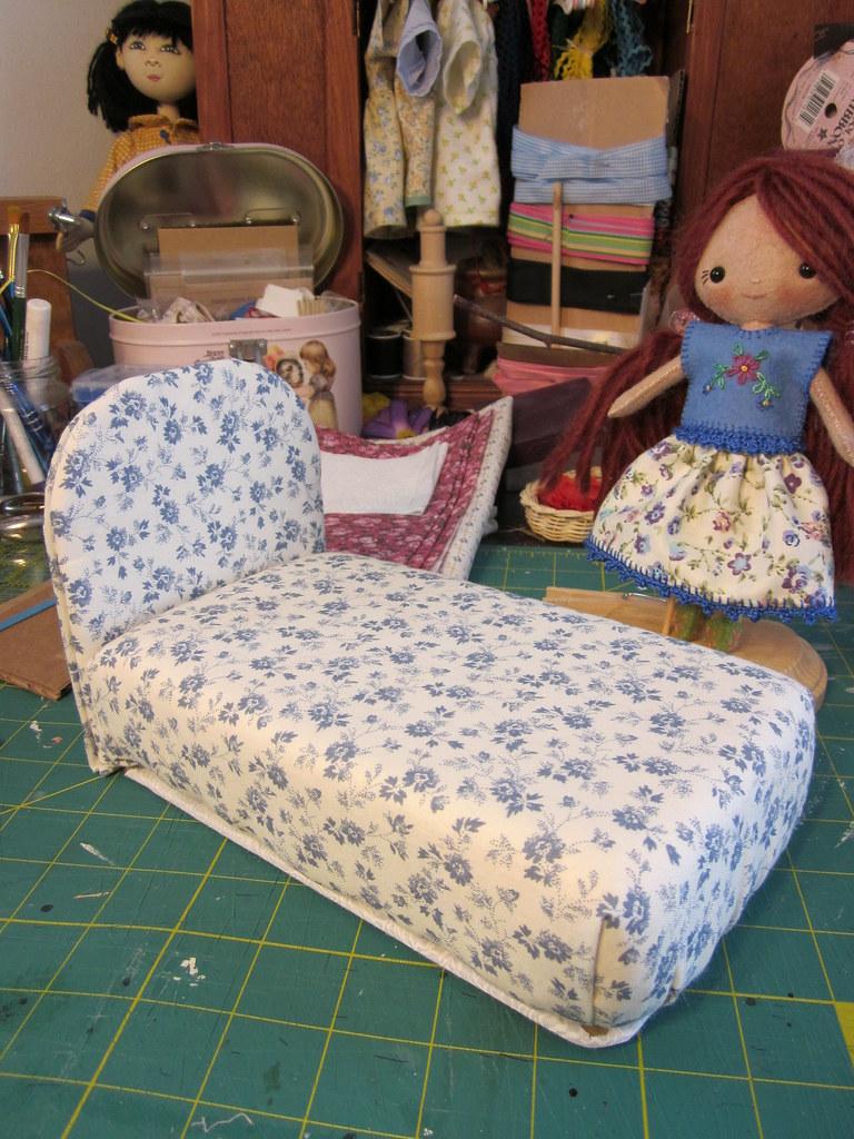 Как сделать кроватку своими руками барби 729