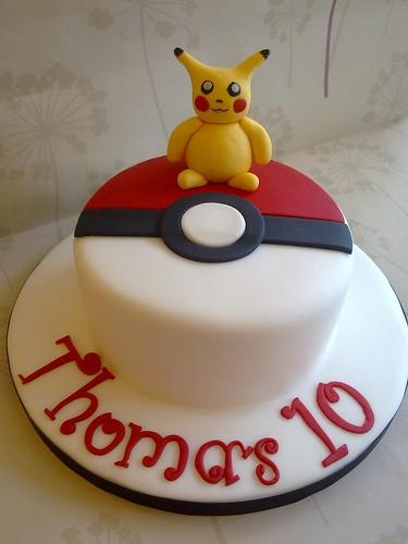 Cake Art Creations By Jane : Pokemon Cake www.creationsbypaulajane.co.uk Paula Town ...