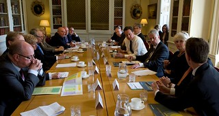 David Cameron and Andrew Lansley meet the Foundation Trust Network | by Department of Health
