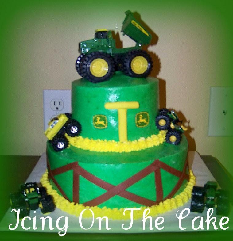 John Deere Birthday Cake Icing On The Cake Lady Flickr