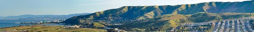 brisbane at the foot of san bruno mountian - panorama | by pbo31