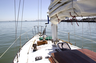 Out on the sailboat in Sausalito's Richardson Bay | by JAD Snippets