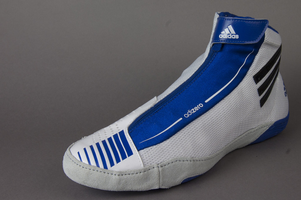 detailed look 39292 df751 ... low cost adidas adizero wrestling shoes royal blue and white adidas  adizero wrestling shoes royal blue