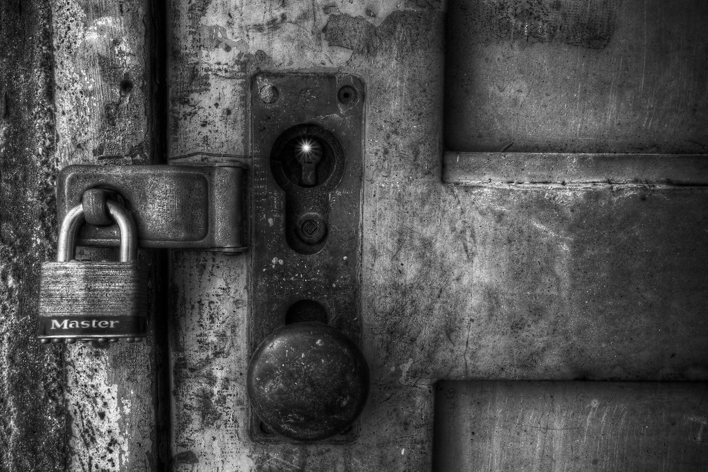 ... Locked Door in B+W Seaholm Power Plant | by Michael Tuuk & Locked Door in B+W Seaholm Power Plant | A couple HDRs fromu2026 | Flickr