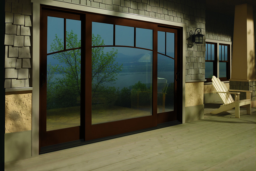 ... A Series Frenchwood Gliding Patio Doors With Exterior Trim | By Andersen  Windows