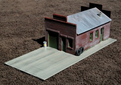 DPM By Woodland Scenics - Sutter's Garage - Completed HO Scale Kit For Sale At www ...