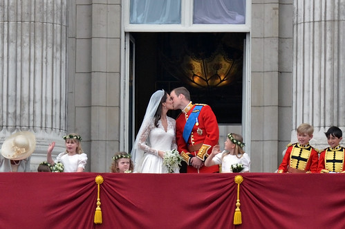 Royal Wedding - Actual First Kiss | by SamuelYUI
