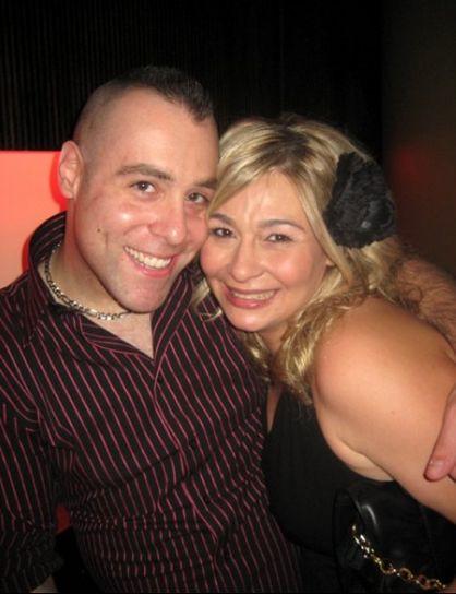 Tony Tone Albanese Mary Valastro At Cake Boss Premiere Party By
