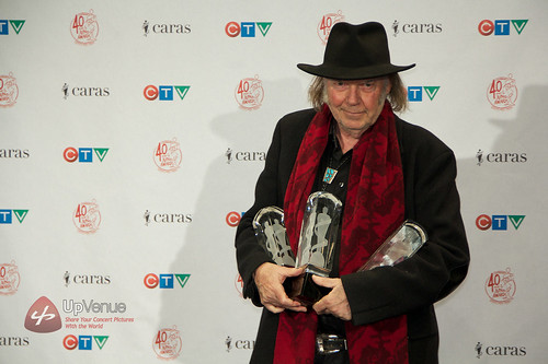 Neil Young @ 2011 Junos | by Up Venue