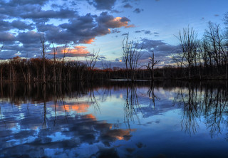 Reflection in Blue | by Keith Moyer