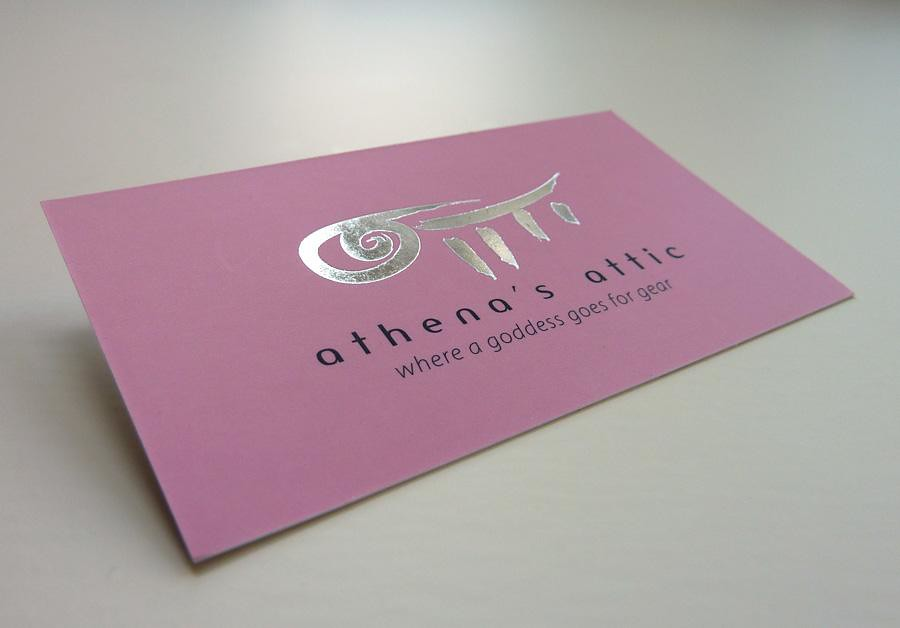 Silk Laminated Business Card with Foil Stamp | 16PT Silk Lam… | Flickr