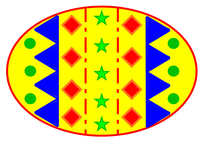 easter egg clipart colour 11 cm wide this clipart drawing flickr
