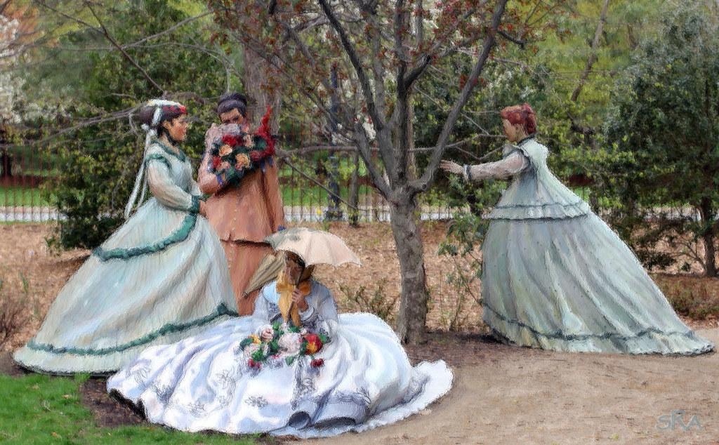 Nice ... Women In The Garden   By SRApix Nice Ideas