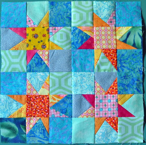144. stars four patch | by Lynn Carson Harris