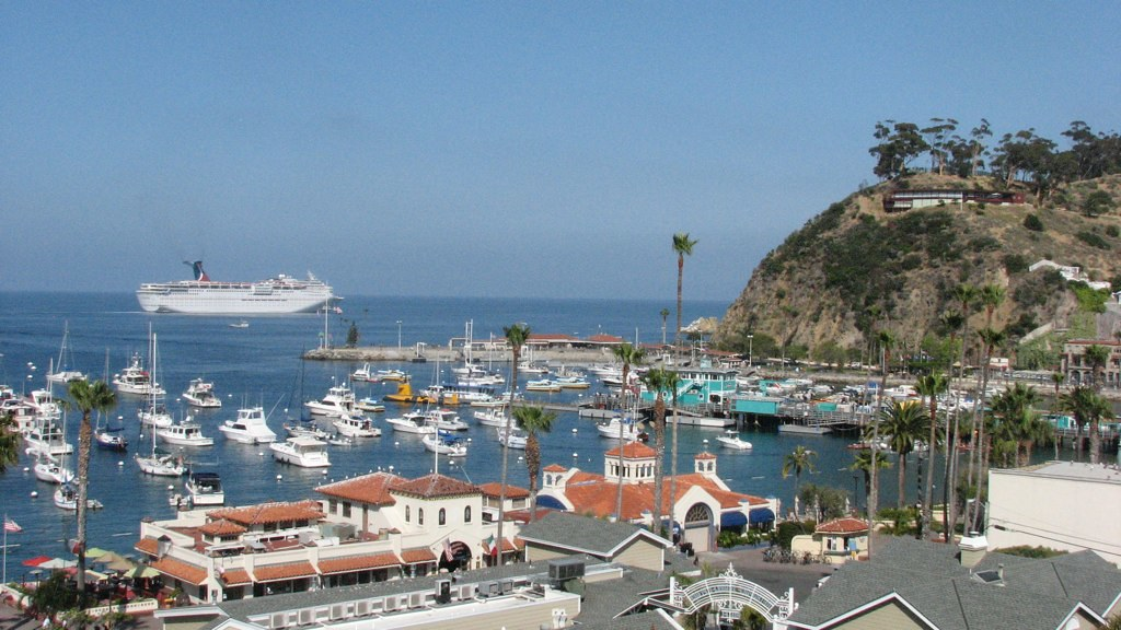 catalina island with carnival cruise line s paradise flickr