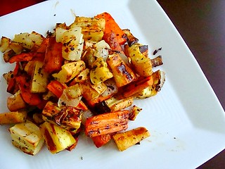 Roasted Root Vegetables | by t-dubisme